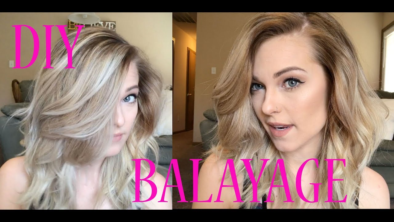 Using Ponytails To Create The Perfect Balayage Youtube