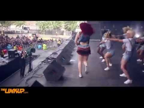 Katy B Brings Out Lethal Bizzle Live At Wireless 2015