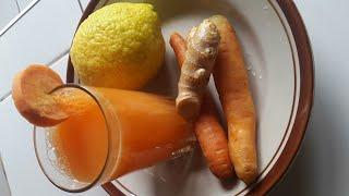 Juice ya karoti inayosaidia kupunguza tumbo #uzito || #bellyfat reduction