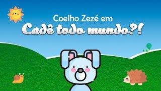 Coelho Zezé em: cadê todo mundo?! - Contação de História e uma divertida oficina.