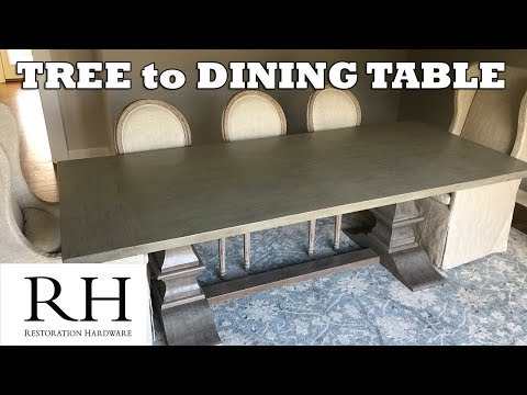 Tree To Restoration Hardware Dining Table
