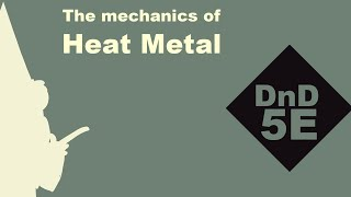 (Animated Spellbook) D&D 5E HEAT METAL