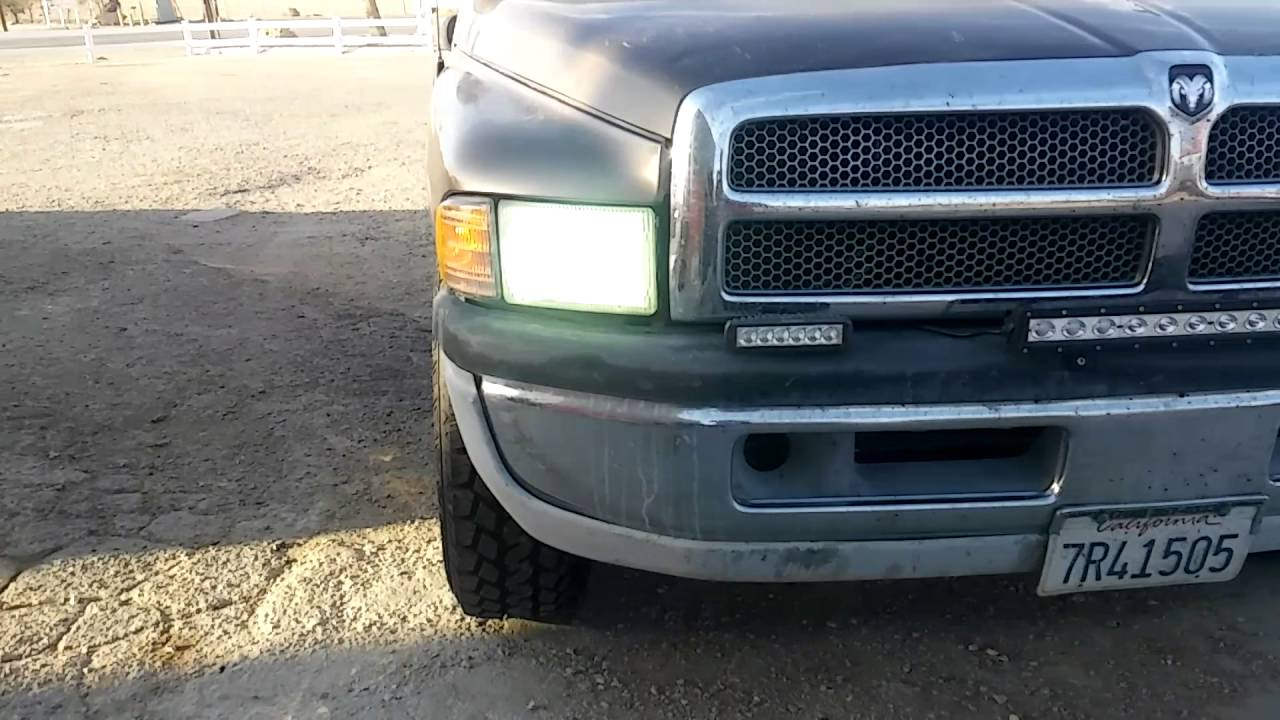 Light Bar On Dodge Ram