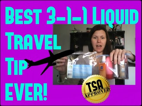 Travel Size Liquids On Plane