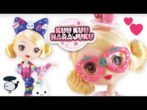 Kuu Kuu Harajuku Fashion G Doll Opening with Outfits!