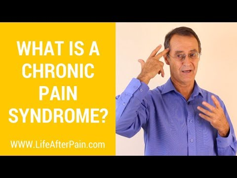What is a Chronic Pain Syndrome?