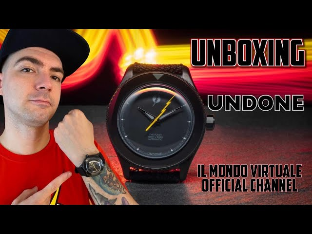 L'OROLOGIO DI FLASH by UNDONE WATCHES! UNBOXING - DC COMICS