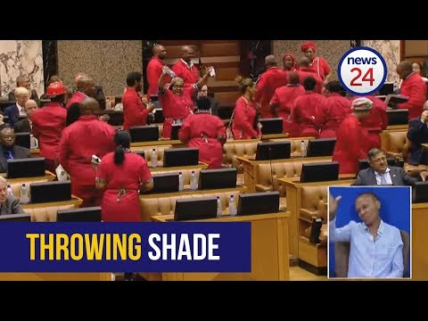 EFF leaves National Assembly - but not before throwing shade at at Lindiwe Zulu