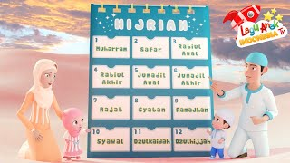 Lagu Anak Islami - Bulan Hijriah - Lagu Anak Indonesia - Nursery Rhymes - أغنية للأطفال