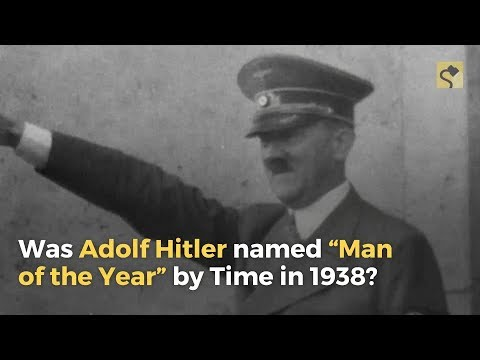 Snopes.com: Was Adolf Hitler Named 'Man of the Year' by Time Magazine in 1938?