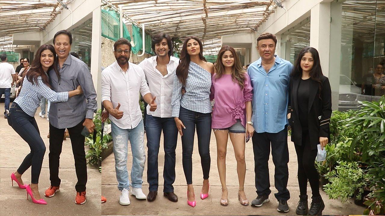 Launch Of Hungama 2 The Film -Dir. Priyadarshan,Shilpa Shetty,Mizaan Jafry,Anu