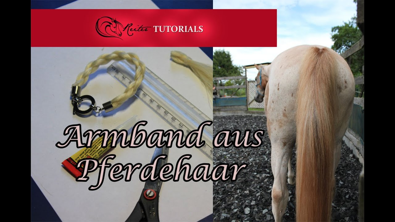tutorial pferdehaar armband selber machen reitertutorials youtube. Black Bedroom Furniture Sets. Home Design Ideas