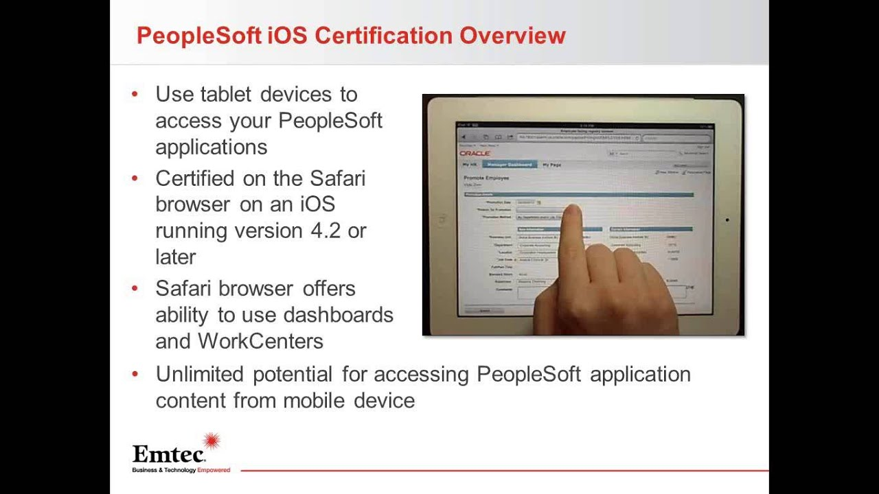 Peoplesoft Fscm 92 Is Here A Whole New User Experience Youtube