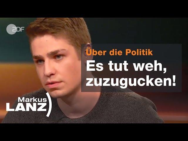 Pfleger Jorde: Das Pflegesystem an die Wand fahren - Markus Lanz vom 28.02.2019   ZDF