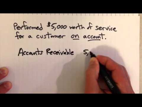 Accrual Example: Revenue