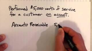 Accrual Example: Revenue
