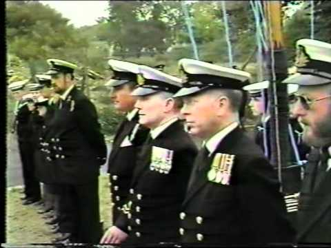The Christening of TS Windsor Castle 1986