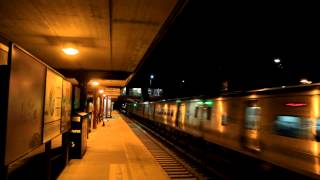 MNCR Harlem Line: M7A Express Train to Southeast Passing Fleetwood RR