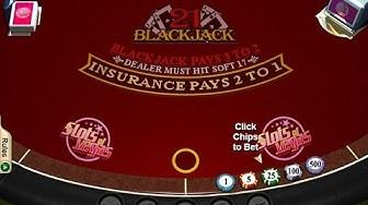 21 Blackjack FREE MOBILE Casino Game @ No Download