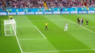 Гол/пенальти - Исландия 1:2 Хорватия - ЧМ2018 - Ростов-на-Дону - 4K Ultra HD Video