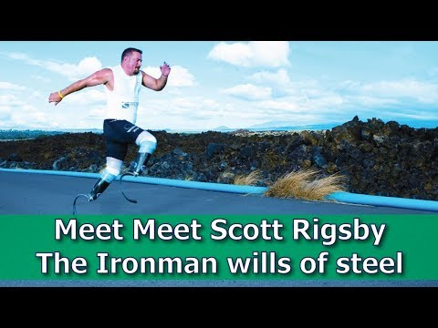 Meet Meet Scott Rigsby The Ironman wills of steel - YouTube