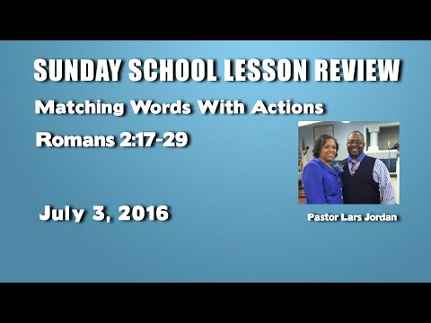 sunday school lessons on dating