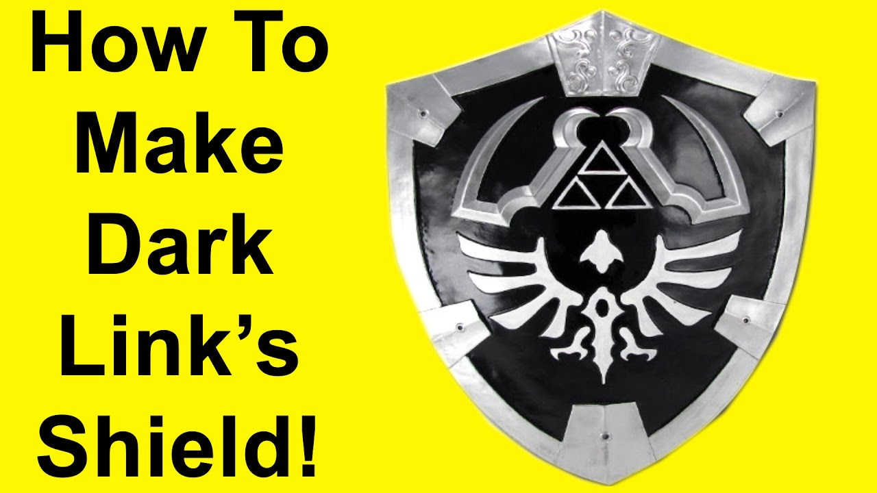 How to Make Dark Link's Hylian Shield (DIY)
