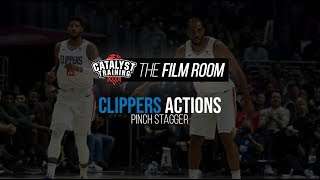 Pinch Stagger || Clippers Actions