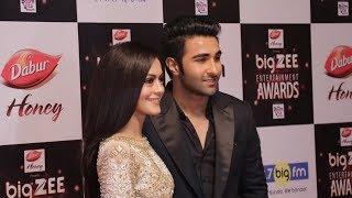 Aadar Jain And Anya Singh At Big Zee Entertainment Awards 2017