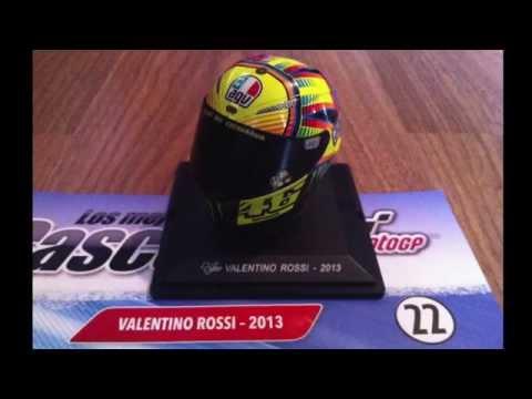 (22) 1/5 Rossi 2013, MotoGP Helmet.