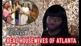 Real Housewives Of Atlanta | Season 11, EP. 2 | South Peach