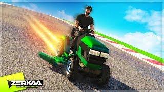1000MPH LAWNMOWER DOWNHILL RACING! (GTA 5)