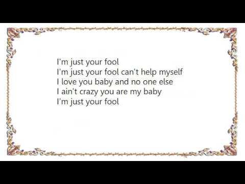 Charlie Musselwhite Just Your Fool Lyrics Youtube