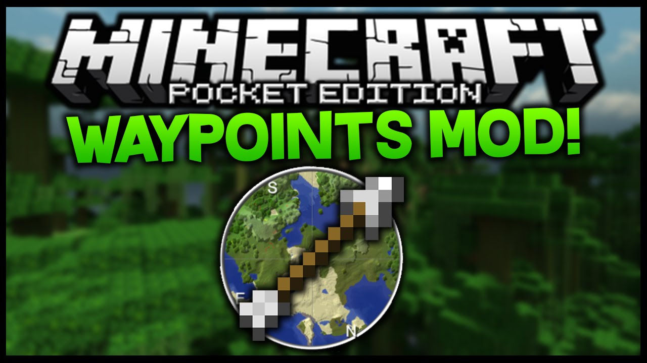 how to make waypoint minecraft