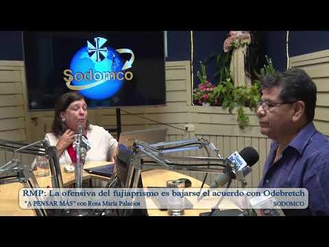 RMP: La ofensiva del fujiaprismo es bajarse el acuerdo con Odebretch