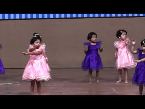 Hello Kids Blossoms - Annual Day - Nursery Girls Dance