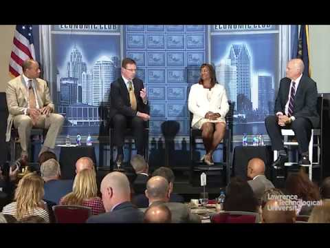 Detroit Business Leaders Discuss Looking Back to Move Forward