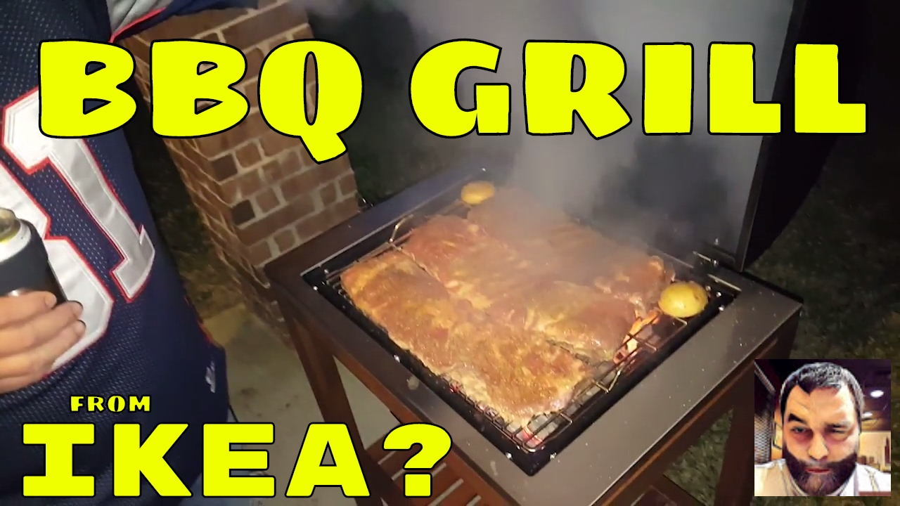 Ikea Holzkohlegrill Test : Reviewing the ikea bbq grill ribs fajitas sausage and more