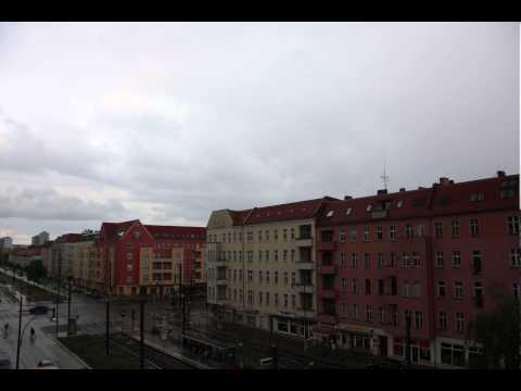 Berlin Rain Timelapse Test