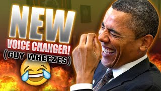 New VOICE CHANGER Voices Makes Guy WHEEZE 100 Times!