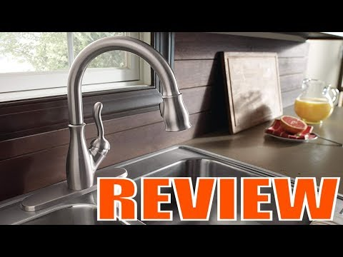 delta-faucet-leland-single-handle-kitchen-sink-faucet-with-pull-down-sprayer-review