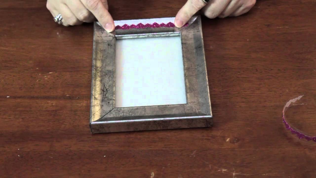 Easy Ways to Decorate Photo Frames : Various Decorative Crafts - YouTube