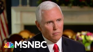 Mike Pence Swears Loyalty To President Trump, Confident Staff Didn't Write Op-Ed | Hardball | MSNBC