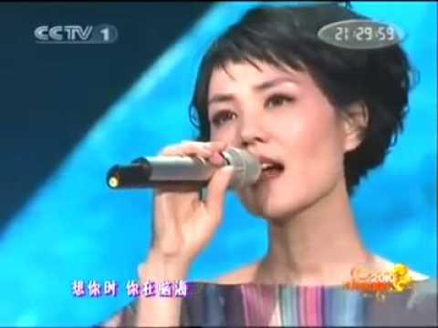 중국 노래 여왕 왕비(王菲)가 부르는 '전기' - YouTube