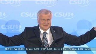 Bayern-Wahl: Die CSU ist wieder da