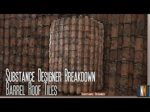 Repeat Mosaic Floor - Substance Designer Material Breakdown