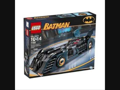 Old Lego Batman Sets and New Minifigures - YouTube