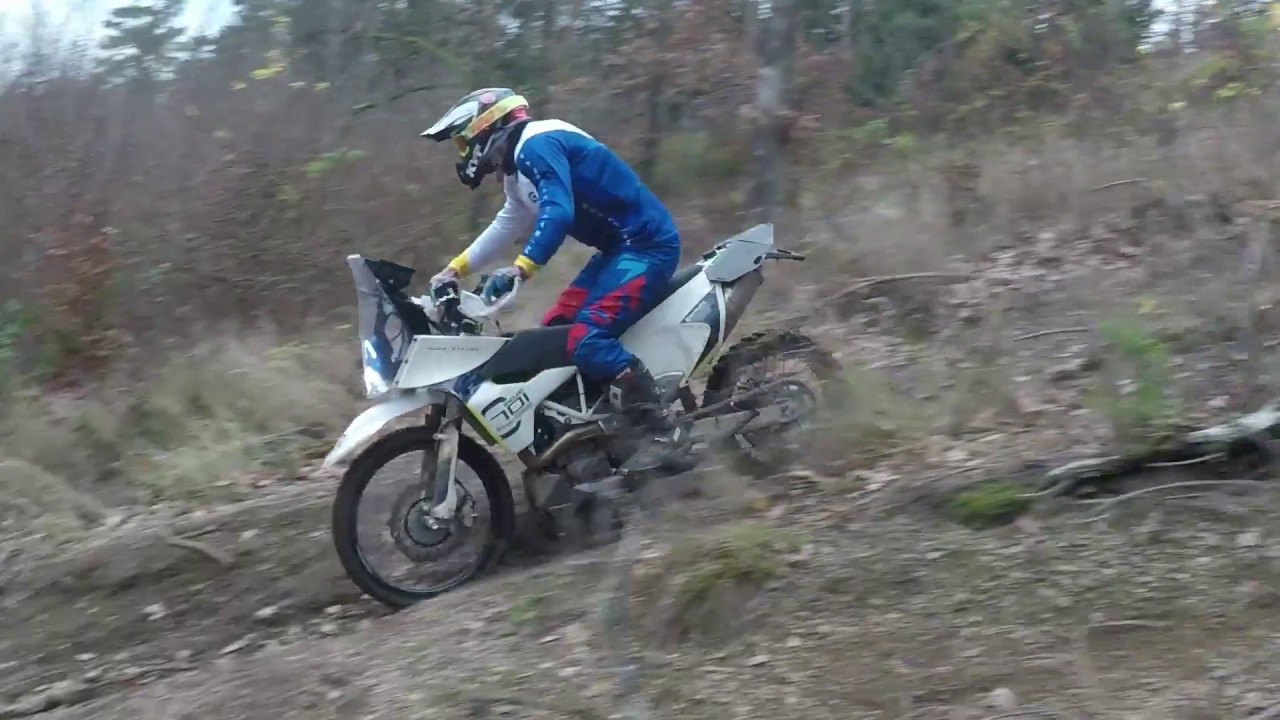 Husqvarna 701 Rally - Just some bits - YouTube