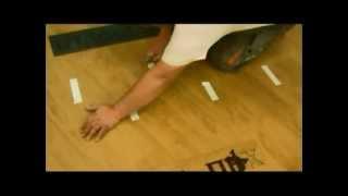 Fine Floor: Укладка плитки ПВХ на бетонное основание(Укладка кварц-виниловой плитки Fine Floor на бетонное основание под углом 45 градусов в разбежку 1/3: разметка..., 2013-01-20T11:46:35.000Z)