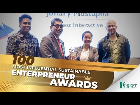 Most Influential Sustainable Entrepreneur | Forest Interactive